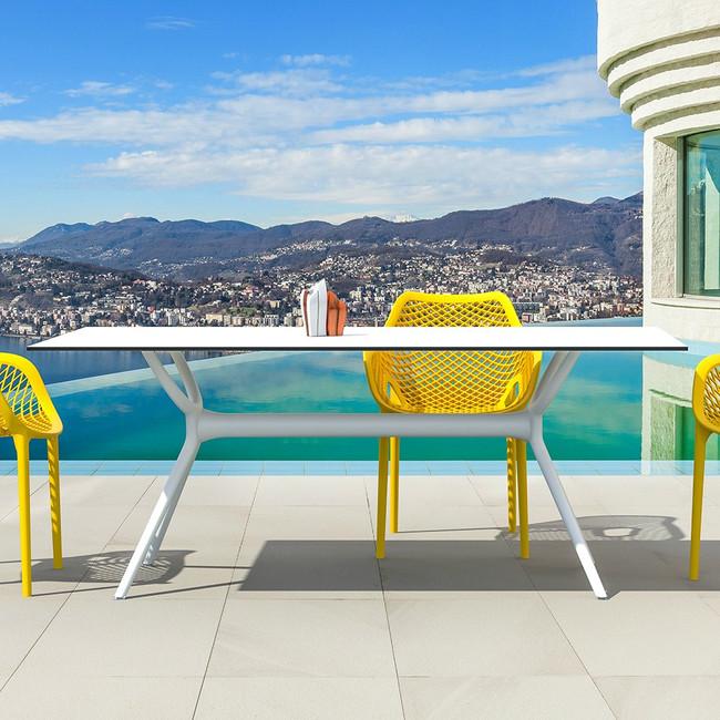 Air Table Outdoor Rectangular Top