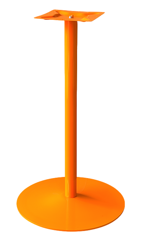 Coral Round Powder Coated Bar Table Base