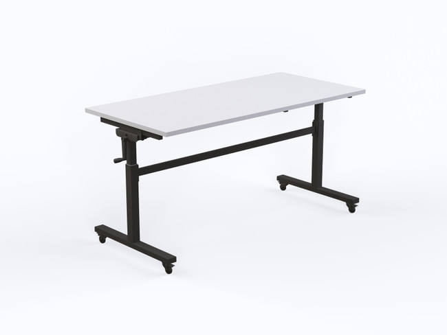 Axle Height Adjustable Flip Table