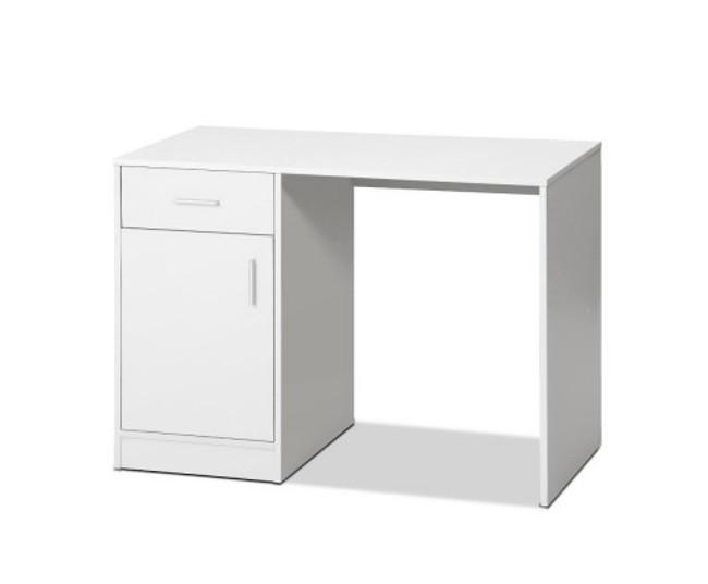 Henry Office Storage White Computer Desk