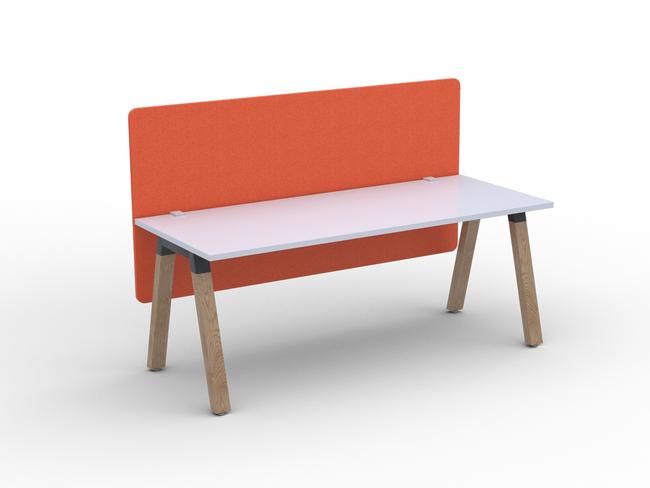 Radius18 Screen Trestle and Modulus Single Sided Desks