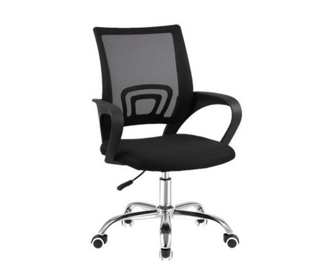 Henry Mid Back Computer Mesh Chair - Black