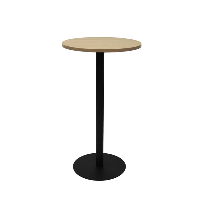Grosvenor 600mm Diameter Dry Bar Table 450mm Dia Disc Base Plate x 1050mm H
