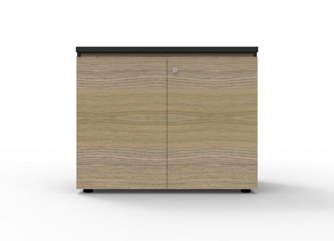 Deluxe Infinity Swing Door Cupboard With Black Rigid Edging