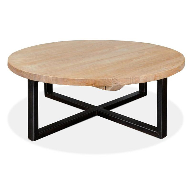 Isabella Reclaimed Round Coffee Table