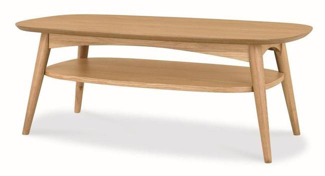 Sienna Scandinavian Coffee Table - Natural