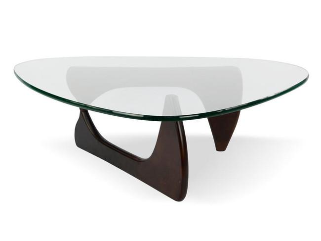Lily Coffee Table - Premium - Dark Walnut