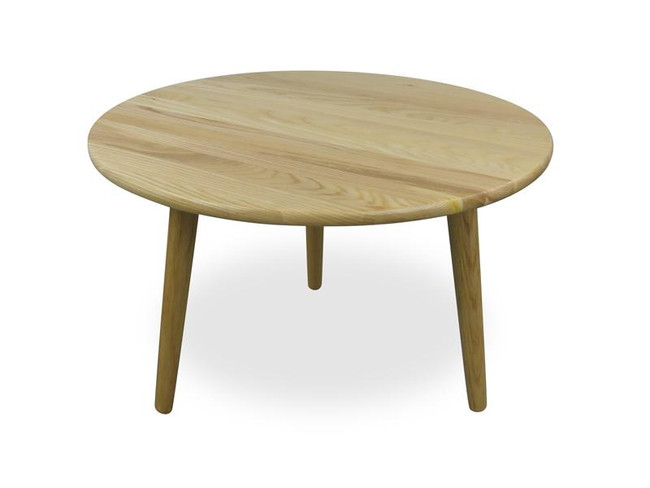 Audrey Round Coffee Table - Natural