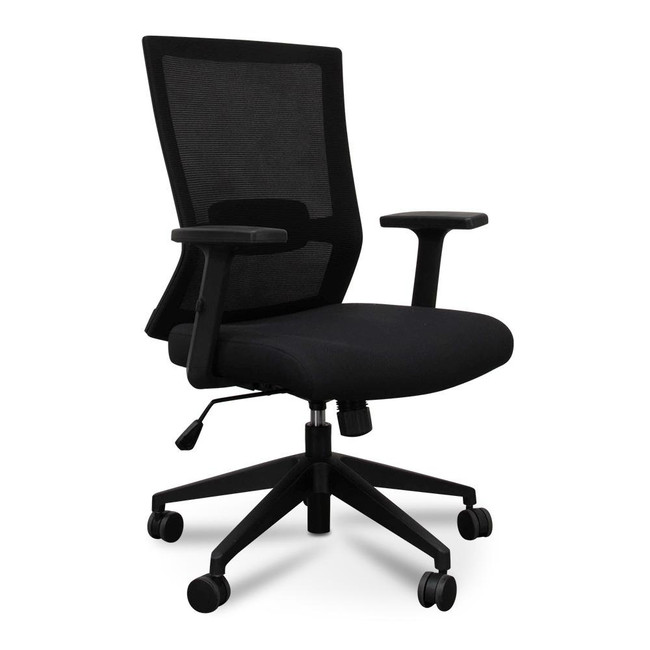 Chelsea Mesh Boardroom Office Chair - Black