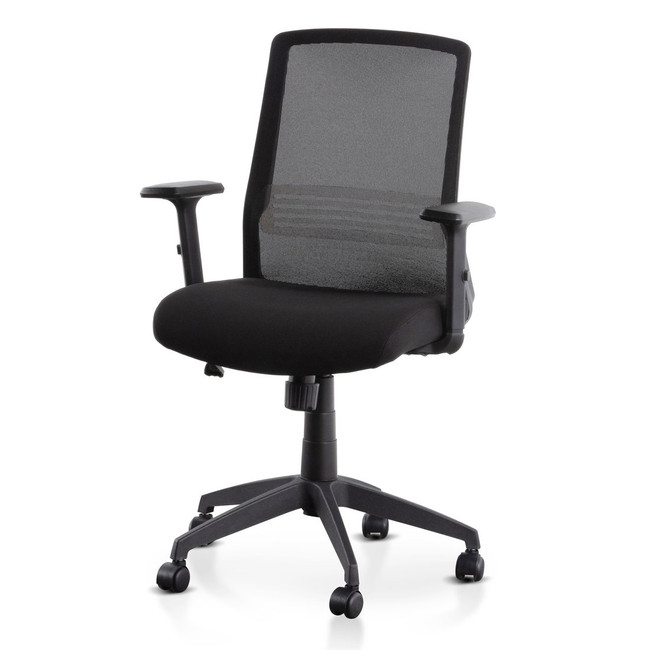 Molly Mesh Office Chair - Full Black