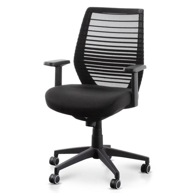 Guyra Office Chair - Full Black