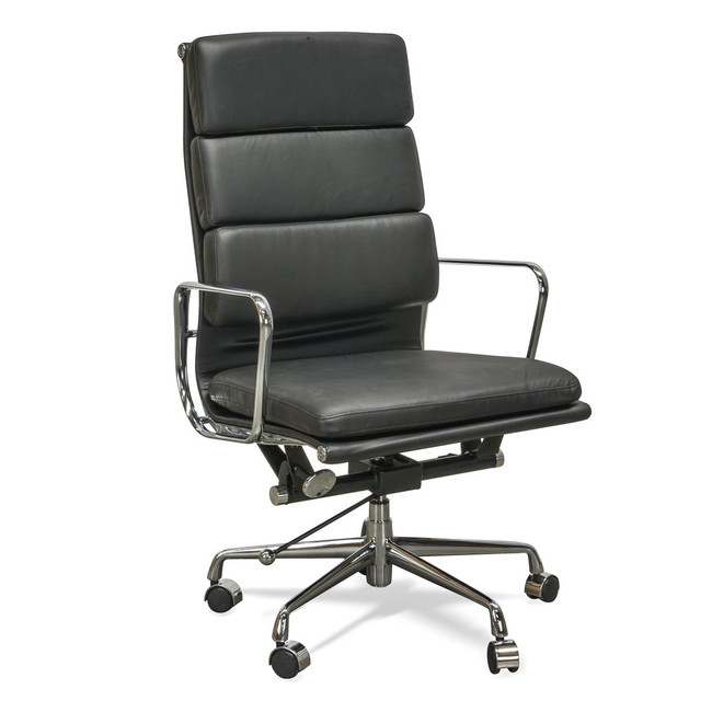 Dubbo Soft Pad Office Chair - Black