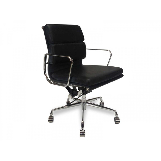 Dalby Soft Pad Boardroom Office Chair - Black
