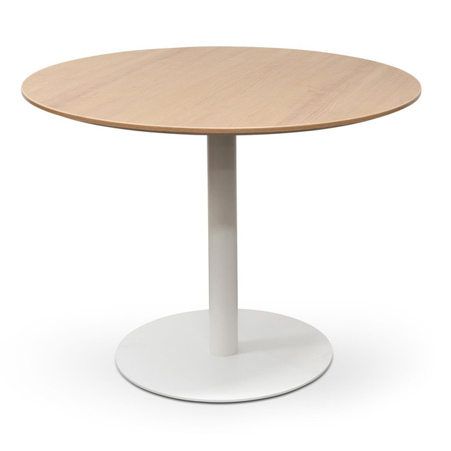 Albury Round Office Meeting Table - Natural