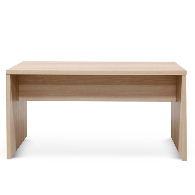 Allora High Office Table - Light Oak