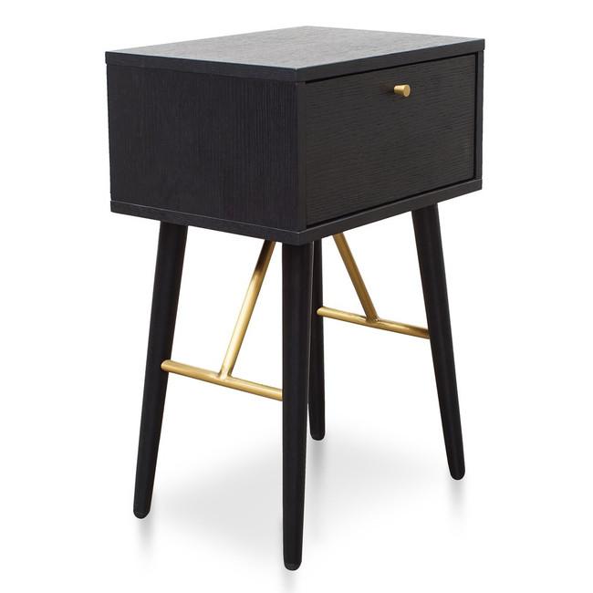 Ora Bed Side Table - Black