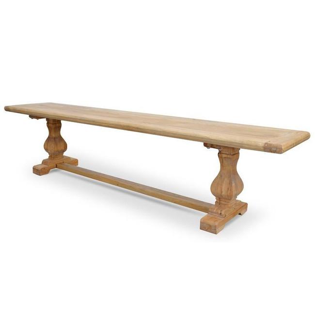Olinda Reclaimed ELM Wood Bench - Natural