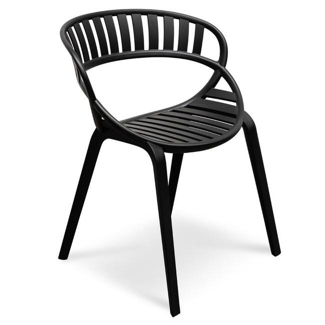 Ouyen Dining Chair - Black