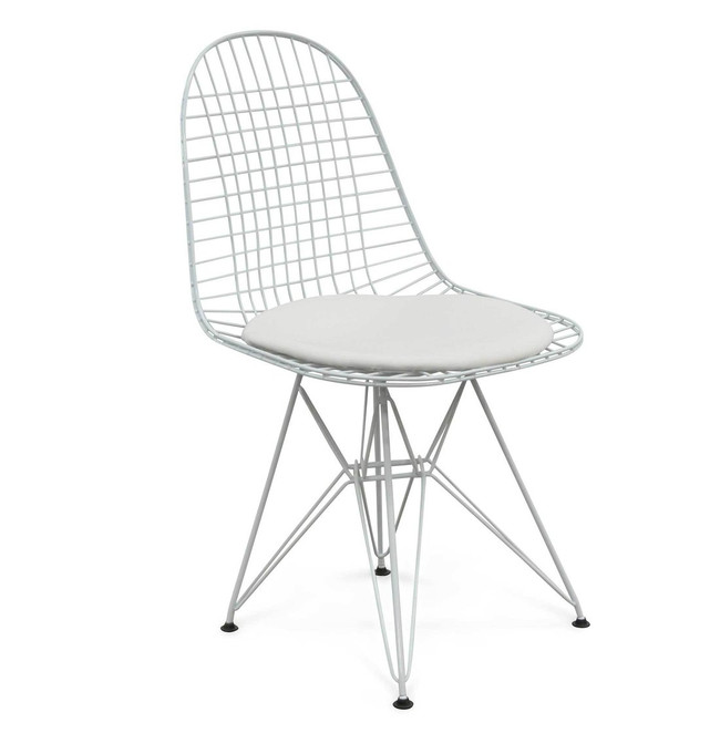 Natimuk Wire Dining Chair - White