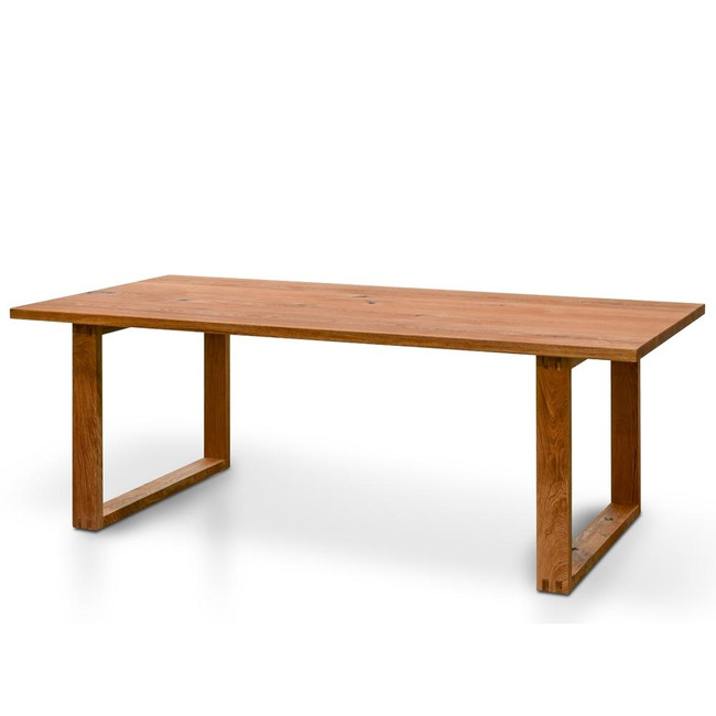 Harden Dining Table - Oak Timber Panels