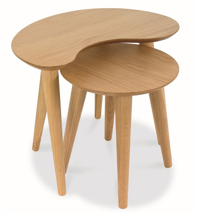 Ungarie Nest of Side Tables - Natural