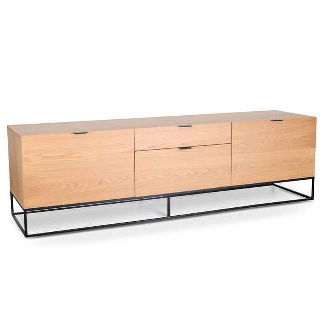 Corowa Entertainment TV Unit - Natural Oak