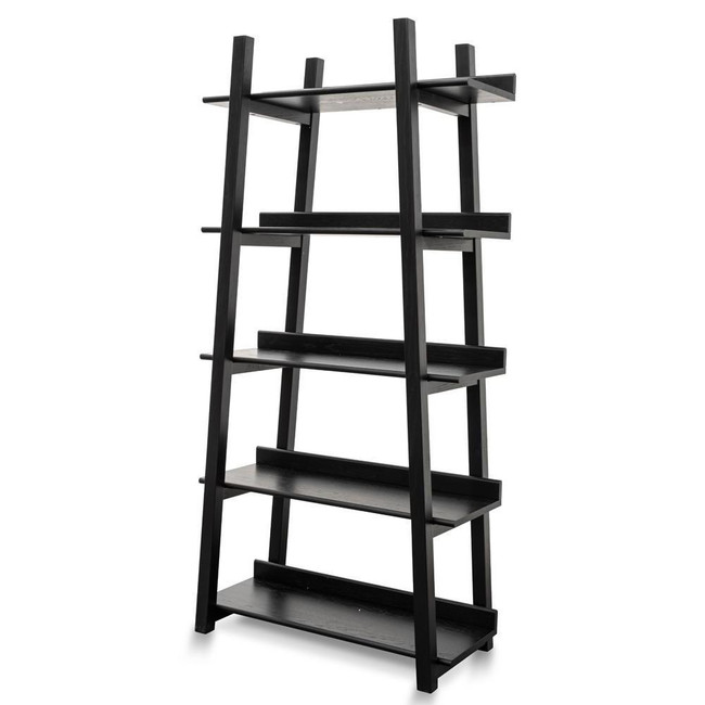 Hawker Bookshelf - Black Oak Veneer