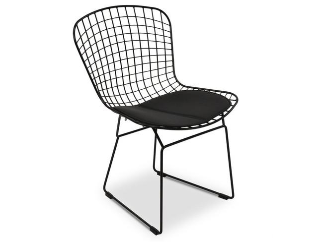 Jandowae Darkan Dining Chair- Black Cushion
