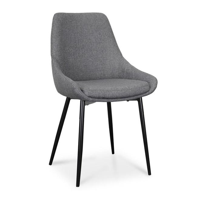 Macarthur Hinton Dining Chair - Dark Grey (Set of 2)
