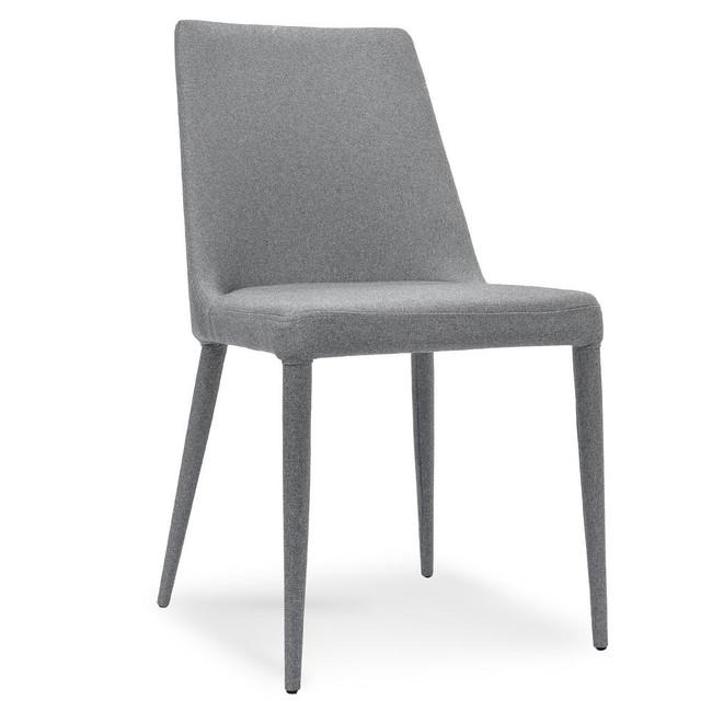 Mourilyan Malanda Fabric Dining Chair - Coin Grey