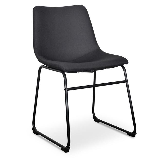 Naracoorte Mareeba Dining Chair in Black (Set of 2)