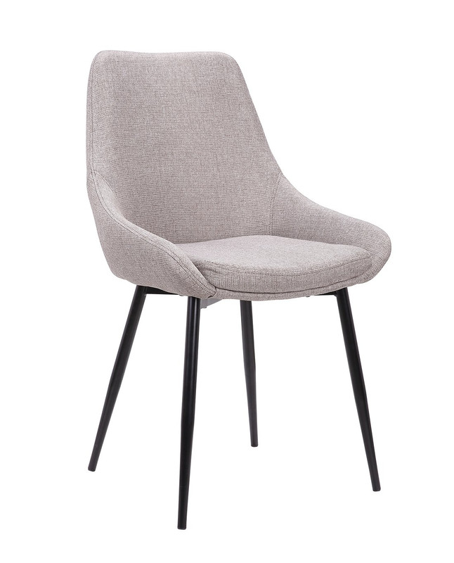 Narembeen Melrose Dining Chair in Brown Grey (Set of 2)