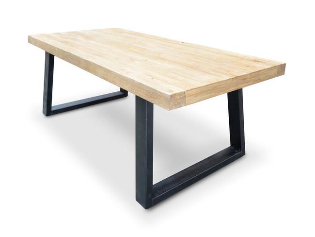 Numurkah Reclaimed Elm Wood Dining Table