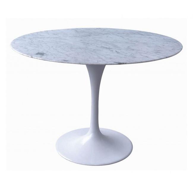 Rylstone Marble Dining Table - Aluminium