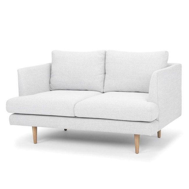 Atherton 2 Seater Sofa - Light Texture Grey