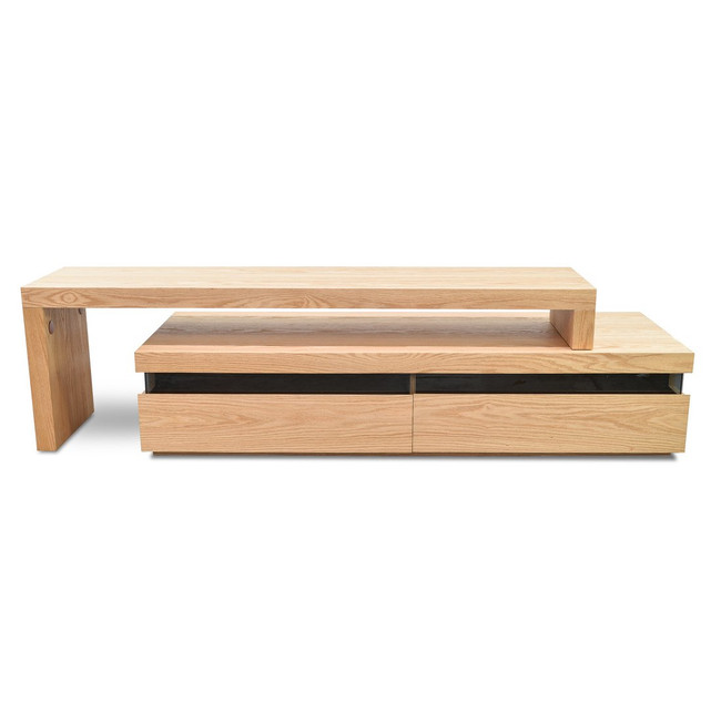 Isisford TV Entertainment Unit - Lowline - Natural