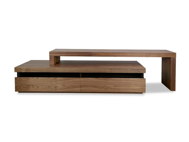 Jamberoo TV Entertainment Unit - Lowline - Walnut