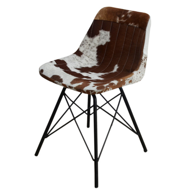 Eames Style Cowhide Chair