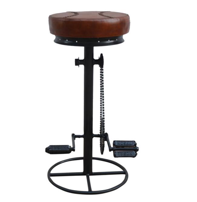 Louis Industrial Bike Stool