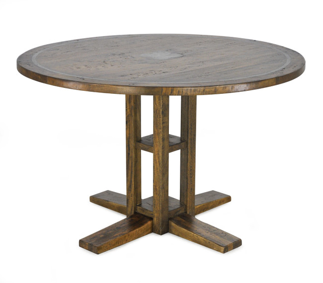 Abigail Round Dining Table W/ Vanburg Base