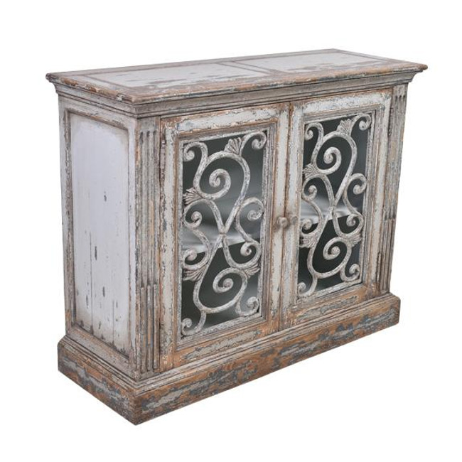 Cannes Weathered Grey Sideboard