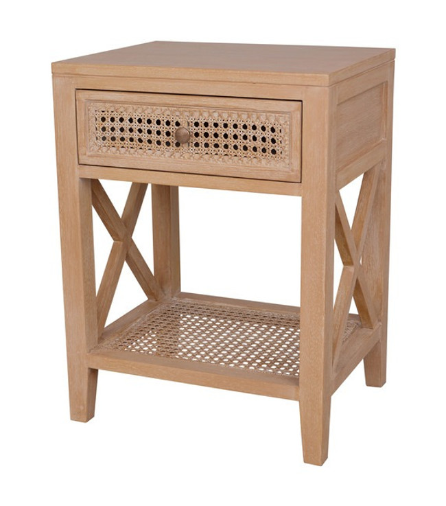 Coastal Crossed Side Table/Bedside