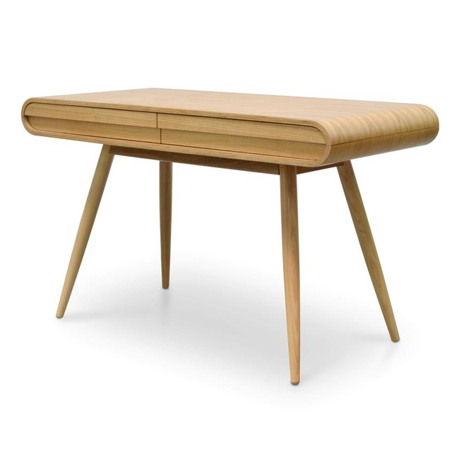 Fluid Natural Narrow Wood Console Table