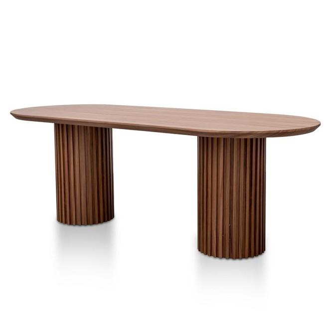 James 2.2m Walnut Dining Table