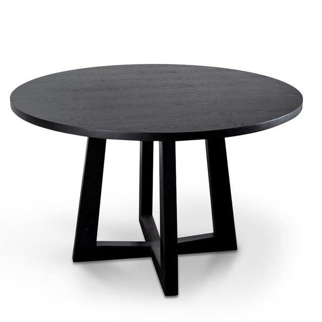 Jack 1.2m Black Dining Table