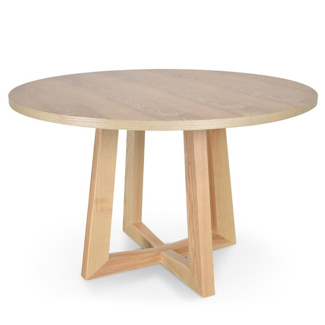 Frederick 1.2m Natural Round Dining Table