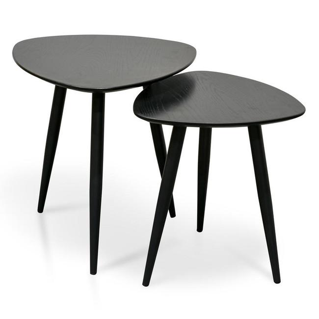 Henry Black Set of Side Table
