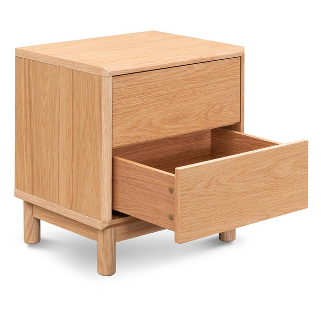 Kelly Natural Oak Bedside Table