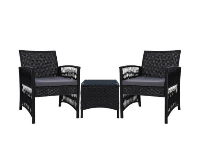 Artarmon Patio Bistro Set Dining Chairs