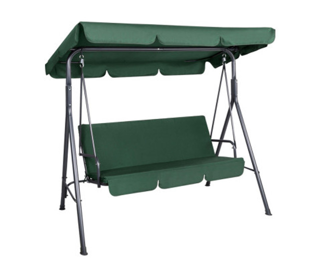 Ashcroft Swing Hammock Canopy Bench